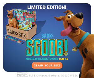 Scooby Doo Bark Box Ad