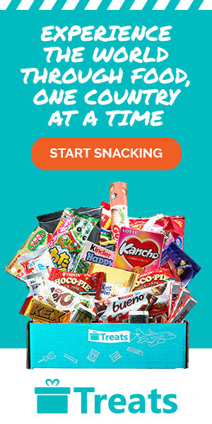 Picture of international treats, experience the world through snacking